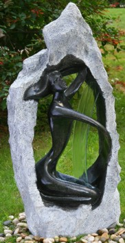 Fiberglasbrunnen