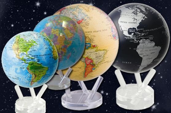 globen aus vielen materialien und in vielen erscheinungen. Black Bedroom Furniture Sets. Home Design Ideas