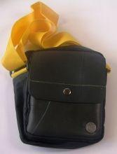 Hand- & Schultertasche gelb 15*5*20cm Fairtrade recycelte Reifen