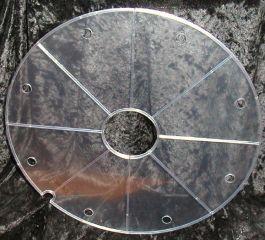 Einlegescheibe für Brunnen