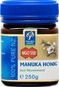 Aktiver Manuka Honig MGO 550 - UMF 25+ aus Neuseeland, 250g