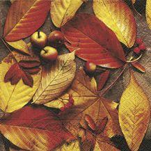 Serviettenset Autumn foliage