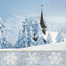 Serviettenset Winterly