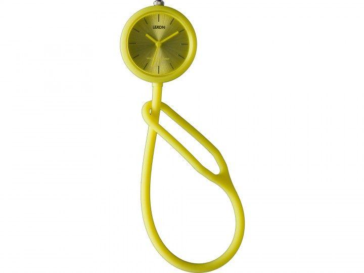 TakeTime gelb Kunststoffband Armband/Taschenuhr