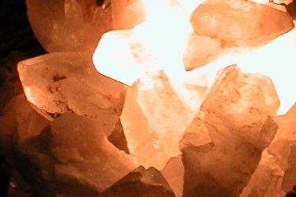 Dekosteine Bergkristallspitzen