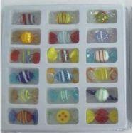 Set mit 18 Minibonbons