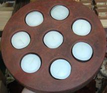 Keramik für 8 Teelichter