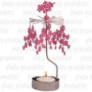 rotierende Teelichthalter Kirschblüte