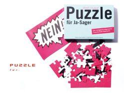 Puzzle für JA-Sager von familie von quast