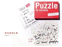Puzzle für Verliebte von Familie von Quast