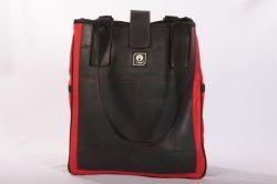 VARGU Tasche Repoh, rot große Umhängetasche aus alten Reifen