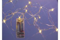 LED-Minilichterkette 10tlg. Amber
