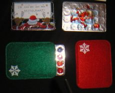 Filzhülle für Miniadventskalender Farbe nach Wahl