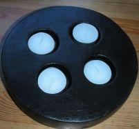 Keramik für 4 Teelichter