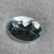 Aquamarin oval