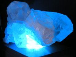 Bergkristall-Stück für LED-Wechsler