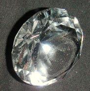 Glasdiamant 6cm klar