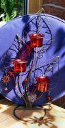 Teelichtleuchter Marienkäfer