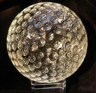 Glaskugel 8cm Golfball