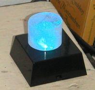 Lichtobjekt Bergkristall