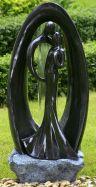 Fiberglasbrunnen Paar für Haus und Garten