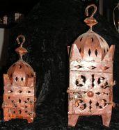 Marokkanische Metall-Lampe 23cm