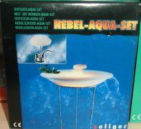 Neblermotor komplett mit Spritzschutz farbig