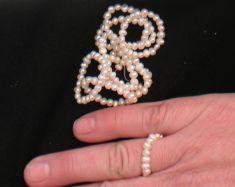 Perlenring dehnbar