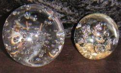 Traumkugel 7cm grosse Luftblasen