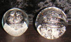 Traumkugel 5-6cm Spirale mit Blasen